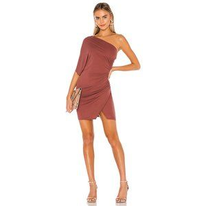 NWT Lovers + Friends Lille One Shoulder Dress M